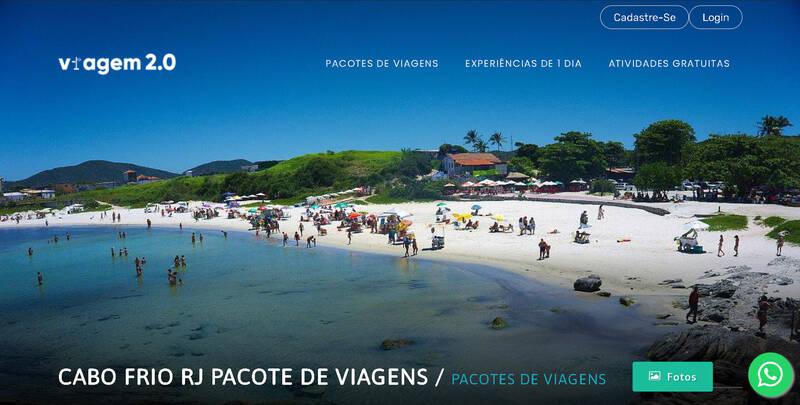 Cabo Frio RJ Pacote de Viagens