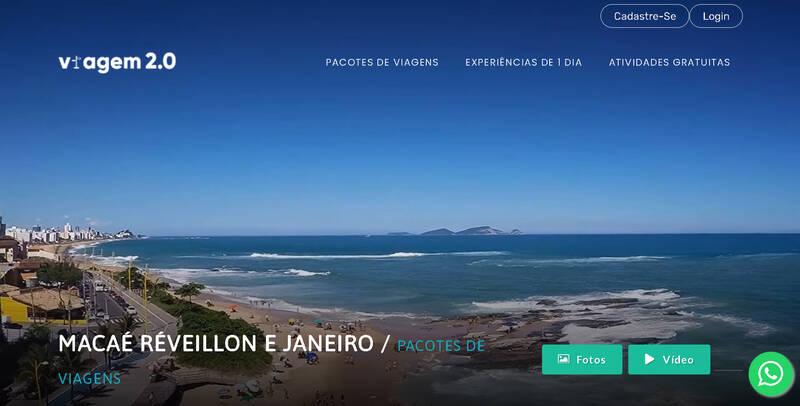 Macaé Réveillon e Janeiro Pacote de Viagem