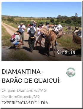 Travessia: Diamantina a Barão de Guaicuí